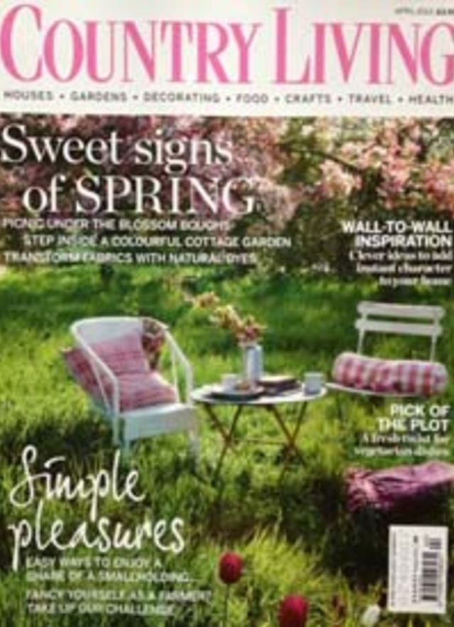 Country Living Magazine - Mandarina Shoes in the media