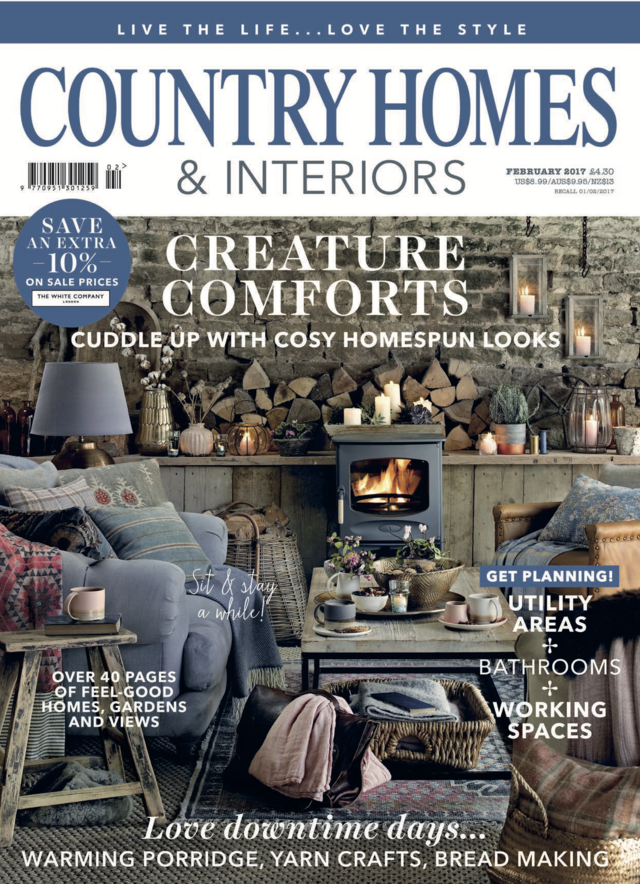 Country Home and Interiors - Mandarina Shoes in the media