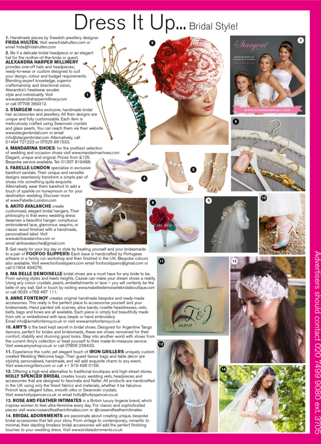 Tatler - Mandarina Shoes in the media