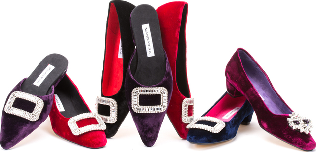 Opera Court Shoes / Red