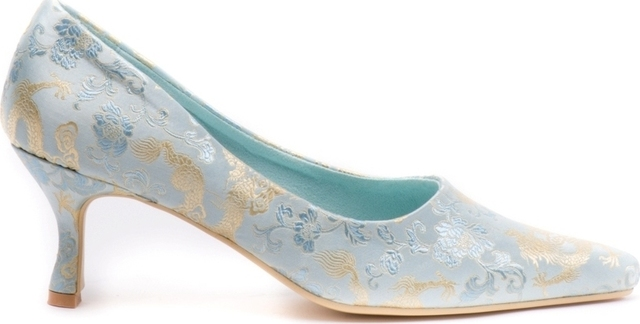 Something Blue Wedding Shoe Thumbnail