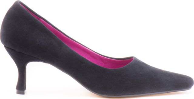 Sabine Navy suede courts Thumbnail