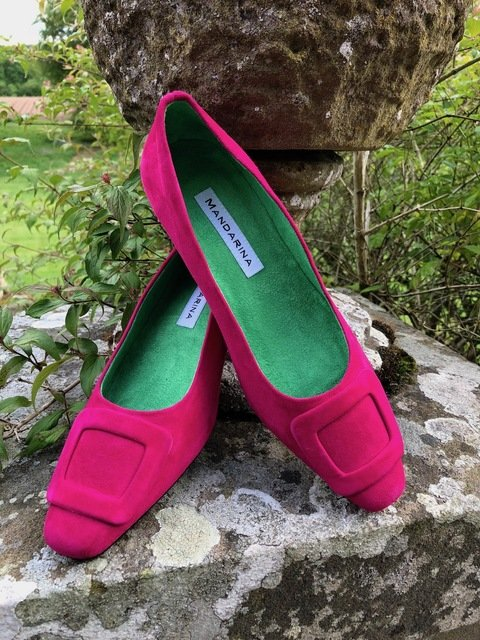 Annabelle Court Shoes / Pink
