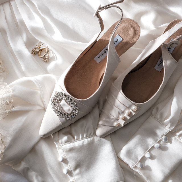Arabella Wedding Kitten Heels