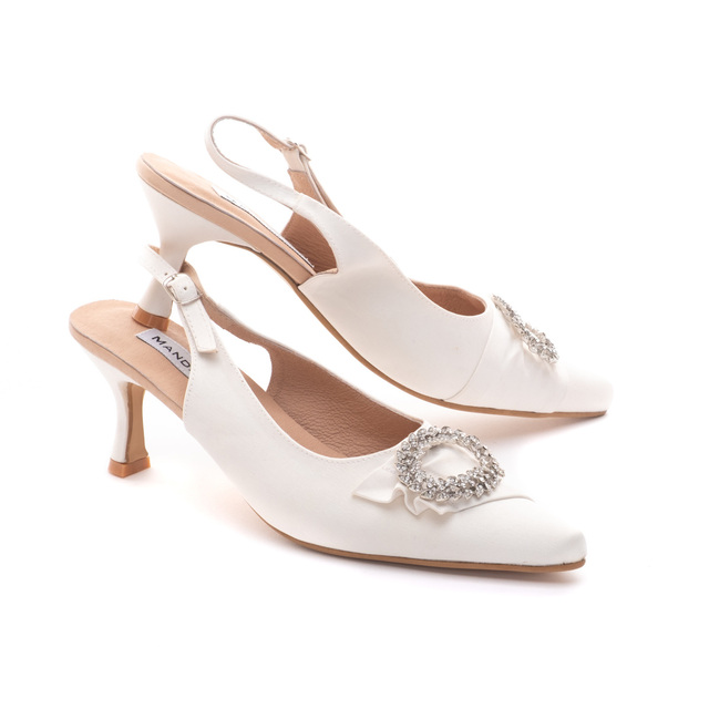 Araminta Wedding Slingbacks