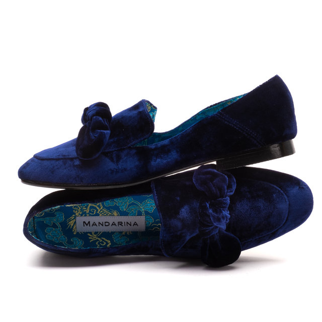 Broadway Bow Loafer / Midnight
