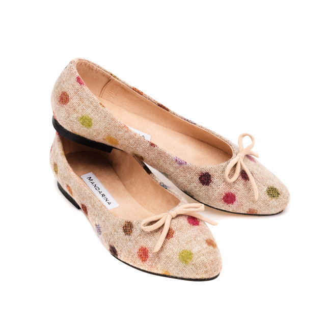 d5074a1a41b24 Bronte Spot Pumps | Mandarina Shoes