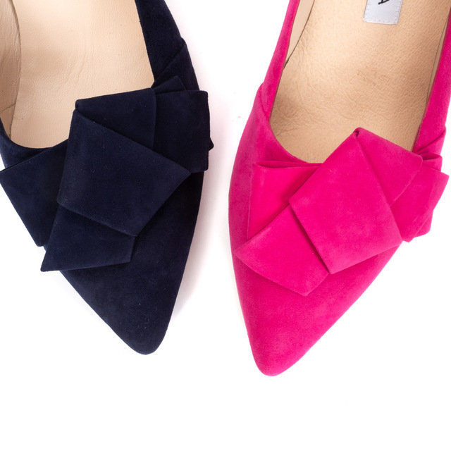Catiana Court Shoes / Hot pink