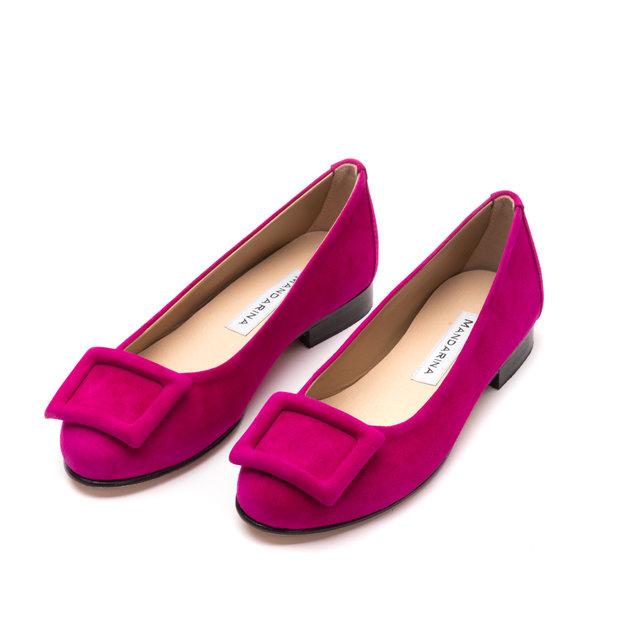 49f478edb8d43 Chiara Pumps / Fuchsia Pink | Mandarina Shoes