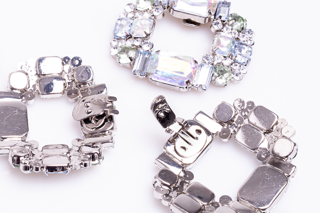 DIAMOND SHOE CLIPS