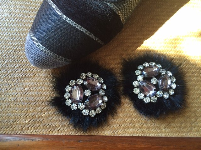 FURRY & SPARKLY SHOE TRIMS