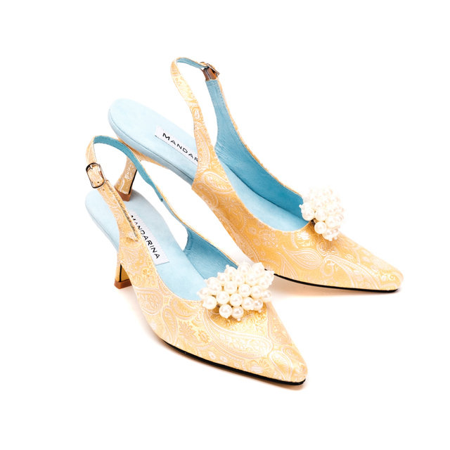 Belle Wedding Slingbacks