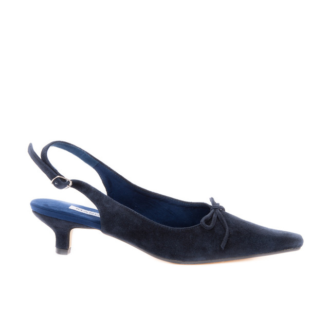 Paris Slingbacks / Navy