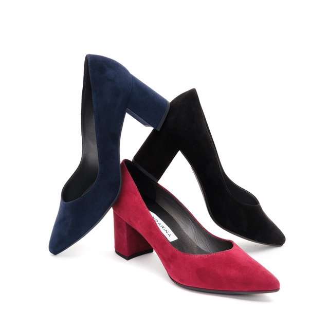 PORTIA COURT SHOES / Black