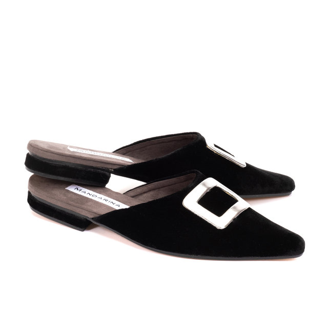 Vogue Buckle Flats/ Size 39