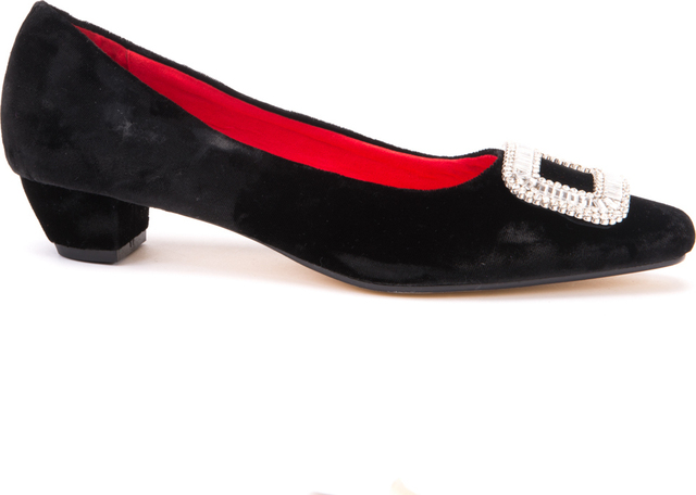 Opera Court Shoes / Black