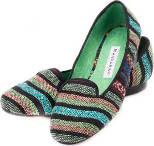 Multi Stripe Loafer