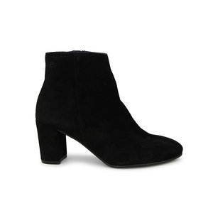 Modish Suede Ankle Boot / Black
