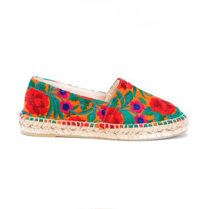 BRIGHT FLOWER ESPADRILLES