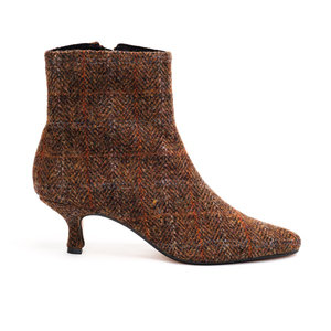 Brora Harris Tweed Ankle Boots