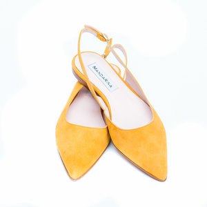 Buttercup Suede Summer Sandals