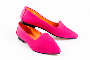 Candy Pink Flats