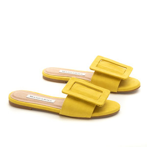 Capri Slides/ Lemon