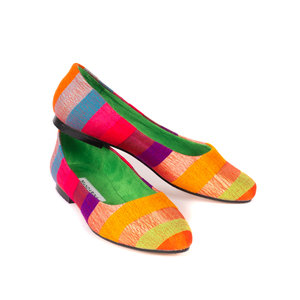 CITRUS CRUSH BALLET PUMPS