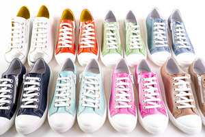 Colourful Leather Sneakers
