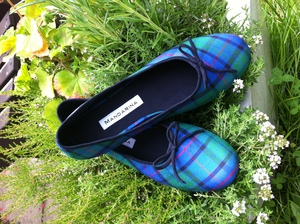 Custom Tartan Shoes