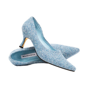 Ella Court Shoe / Bluebell