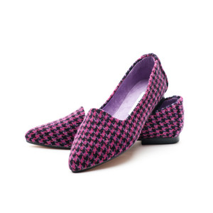 Fair Isle Tweed Flats