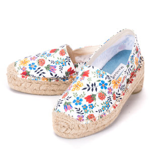 FLOWER POWER ESPADRILLES SIZES UK6 & UK7