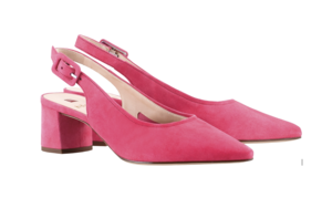 Georgie Slingbacks / Pink