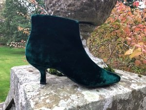 Petra Pixie Boots / Green