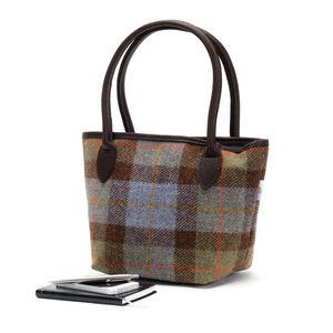 Harris Tweed Bucket Bag / Macleod Tartan