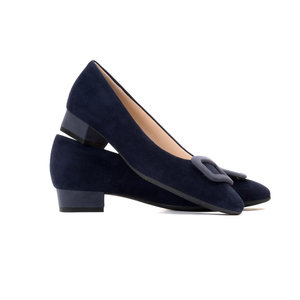 Ink & Indigo Low Heel Courts