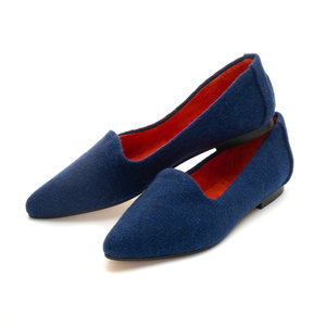 Lulu Harris Tweed Flats