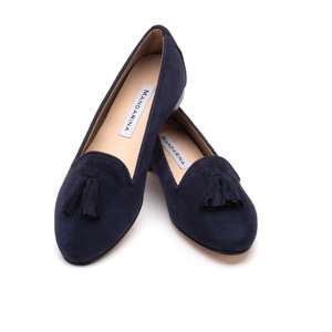 LULU Tassel Loafer / Navy