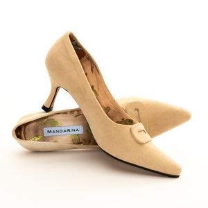 Nude Court Shoe