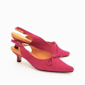 Paris Slingbacks / Hot pink