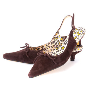 Paris Slingbacks / Mocha