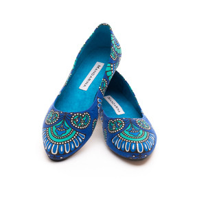 Blue Palm PUMPS