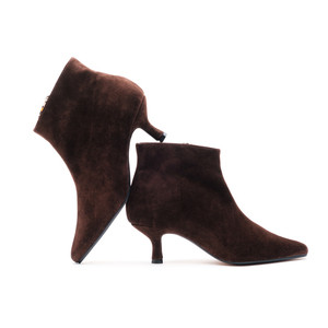 Petra Pixie Boots / Brown Suede