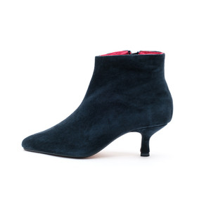 Petra Pixie Boots / Navy Suede