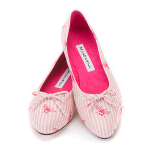 Pink Bee Pumps