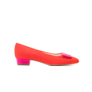 Scarlet Pimpernel Low Heel Courts