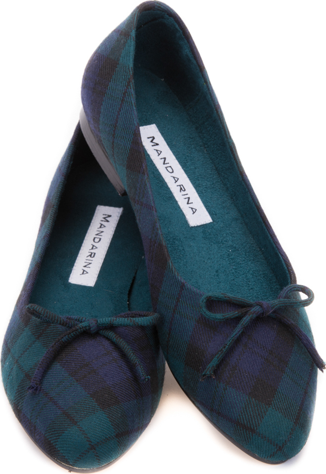 Black Watch Tartan Pumps