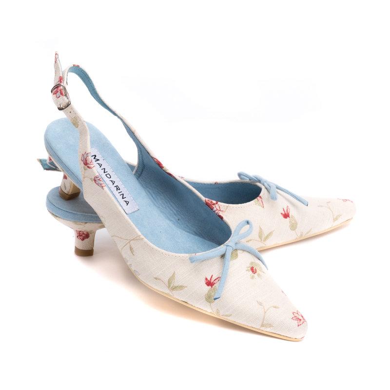 Kitten Heel Mules Shoes